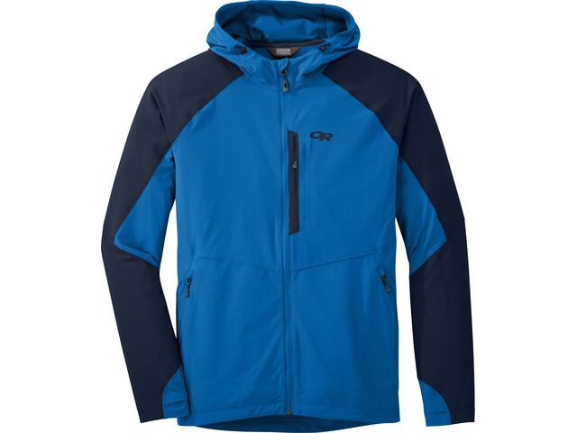 Outdoor Research M's Ferrosi Hooded Jacket Glacier/Night